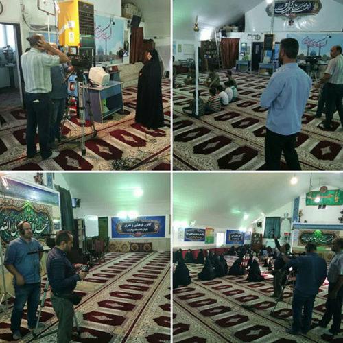 ضبط فعالیتهای مسجد از طرف صدا و سیما